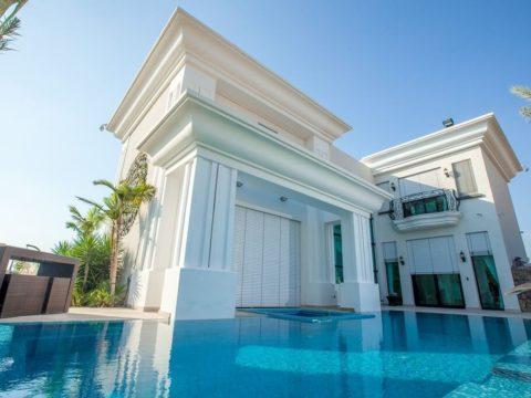 זווית נוספת של הבית הלבן קיסריה לאחר תכנון אדריכלי