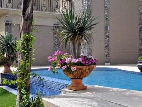 תכנון אדריכלי לגינה יוקרתית