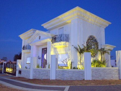 תכנון אדריכלי לבית שכולו לבן