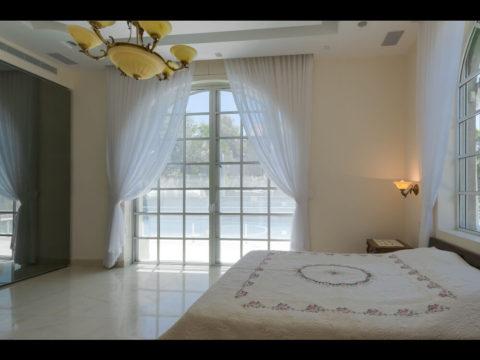 חדר שינה מעוצב בסגנון וינטאג'