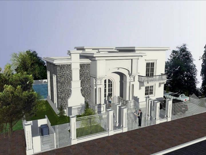 תכנון אדריכלי לבית בשכונת הגולש בקיסריה