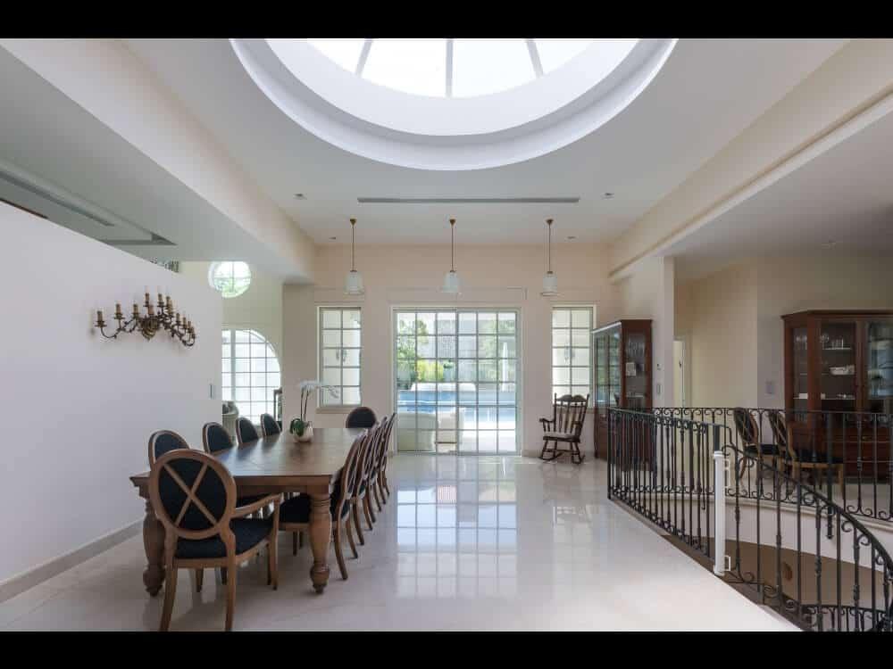 פרויקט אדריכלות מושלם בבית בהוד השרון