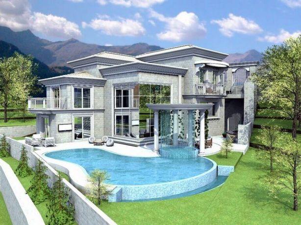 תכנון אדריכלי לבית פרטי מפואר