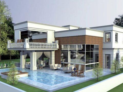 אדריכלות בתים בסגנון מודרני