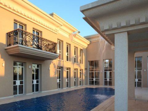 פרויקט אדריכלות של בית יוקרה