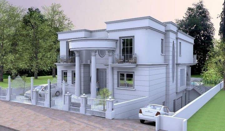 תכנון אדריכלי לבית מפואר לעיצוב ייחודי