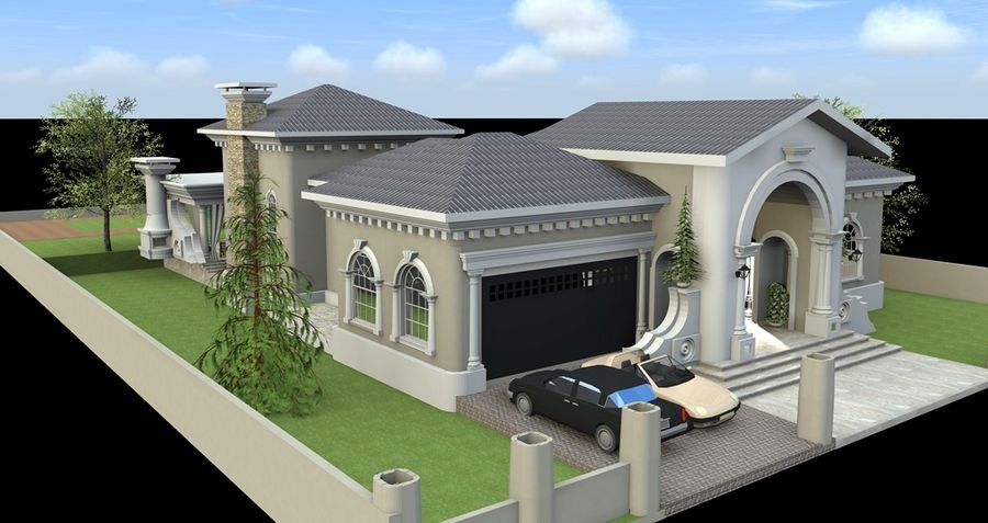 זווית החניה בתכנון אדריכלי לבית פרטי