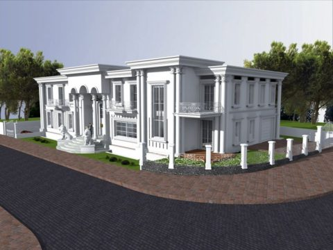 פרויקט במרכז בסגנון הבית הלבן