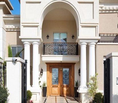 עיצוב כניסה לבית פרטי