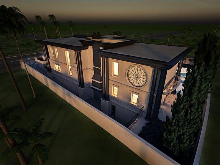 תכנון וילה במרכז על ידי ארכיטקט