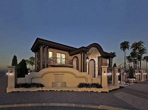 בית יוקרתי בעיצוב ייחודי שתוכנן בשרון על ידיי מלכה אדריכלים