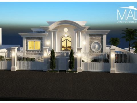 ארכיטקטורה של בית פרטי