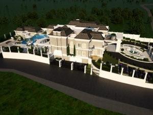 תכנון אדריכלי מודרני של מלכה אדריכלים