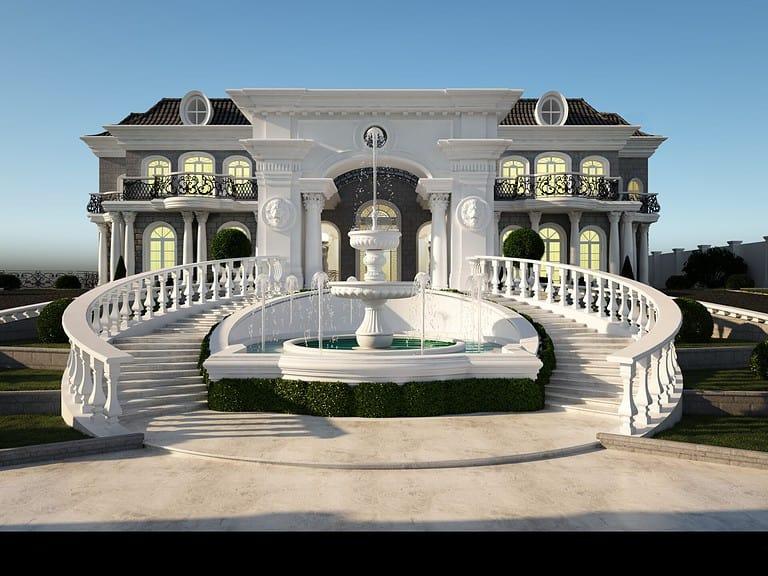 אדריכלות יוקרתית לבית פרטי