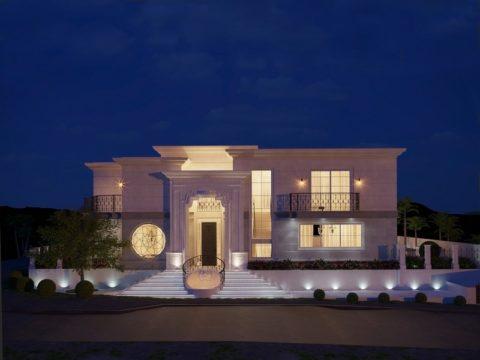 תכנון בית פרטי עם תקרות גבוהות